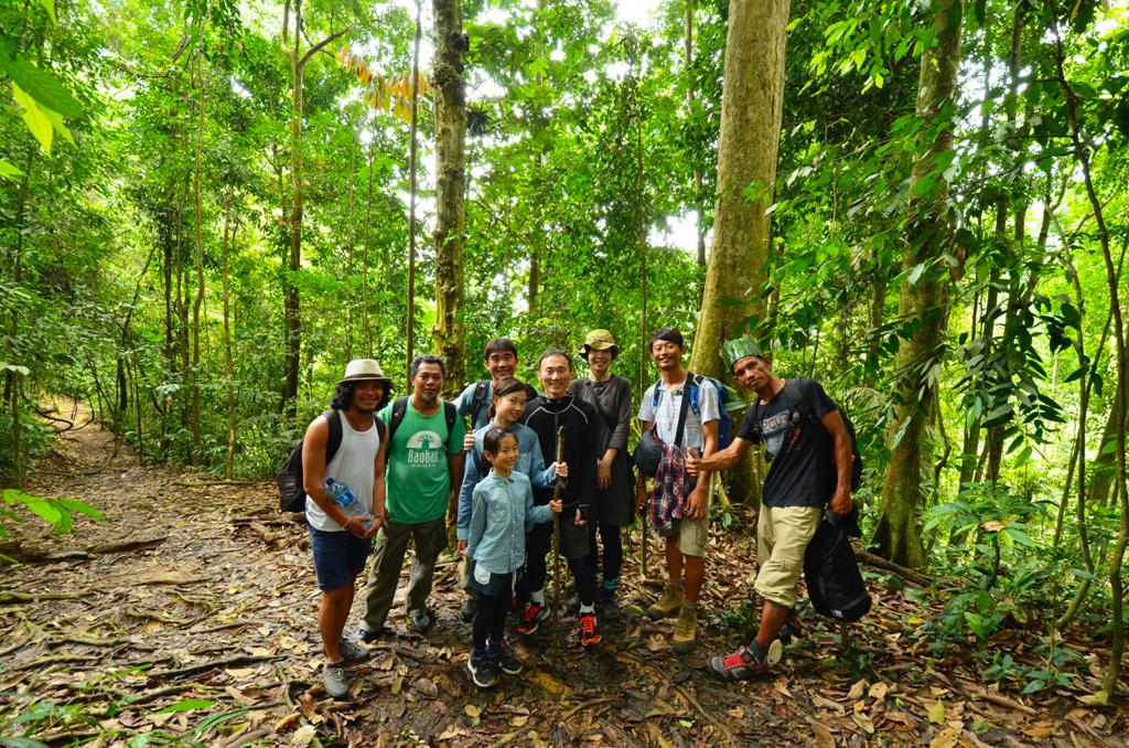野村家のオランウータン探しの旅