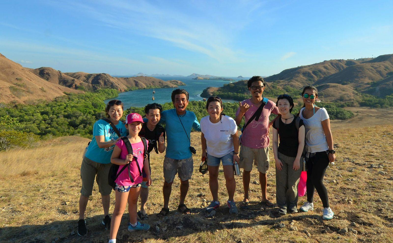 コモドドラゴン探し&インドネシアのマチュピチュに泊まる旅